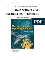Downloadable Solution Manual for Materials Science and Engineering Proper0Gilmore 1e Front Matter 1