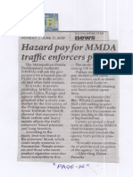 Philippine Star, June 17, 2019, Hazard pay for MMDA traffic enforcers pushed.pdf