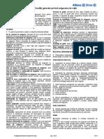 CGV12 Conditii Generale Asigurari de Viata