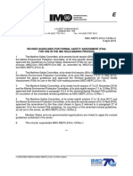 Revised Guidelines for Formal Safety Assessment (Fsa)_msc-Mepc 2-Circ 12-Rev 2