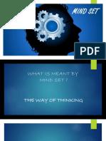 Mind Set PPT