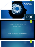 Mind Set PPT