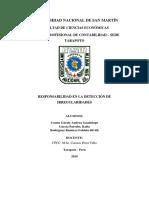 Grupo 4 Determinacion de Responsabilidad de La Deteccion de Irregularidades