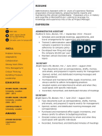 Clean-Resume-Template-Gold