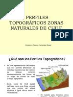 Perfiles Topograficos Zonas Naturales de Chile