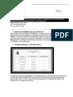 Artículo Cómo Desarrollar Un Modelo Sistemático en La Preparación de La Psu-l