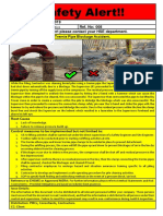 EHS Alert 008 - Tremmie Pipe Blockage Accident