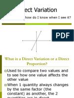 Directvariation Powerpoint