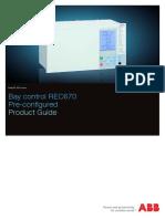 157396382 ABB REC670 1MRK511232 BEN D en Product Guide REC670!1!2 Pre Configured