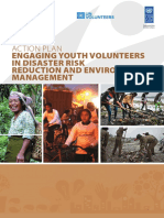 Action Plan - Engaging Youth Volunteers in Disaster Risk Reduction and Environment Management