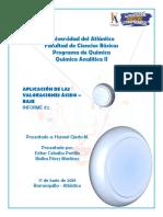 Informe 2 - Analítica II