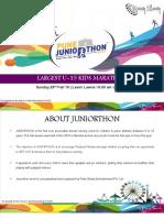 Pune Juniorthon 2019
