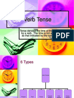 Verb Tense