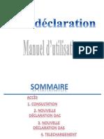 Manuel Declaration DAS