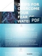 3 TIPS FOR OVERCOME YOUR FEAR OF WATER | AQUAPHOBIA