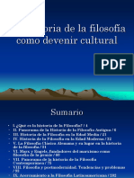 La Historia de La Filosofia en Su Devenir Cultural (1)