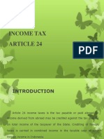Income Tax Article 24