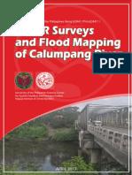 LiDAR Surveys and Flood Mapping of Calumpang River