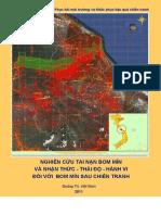 Báo cáo nghiên cứu tai nạn bom mìn và nhận thức-thái độ-hành vi đối với bom mìn sau chiến tranh, Quảng Trị 2011