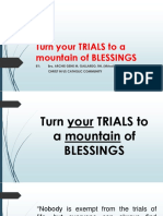 Turn Your TRIALS to a Mountain of BLESSINGS (1)