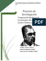 Proyecto de Amlo y Cardenas Semifinal