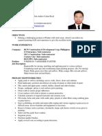 ED Resume