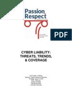 Cyber Liability Threats, Tre
