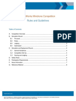 Mathworks Minidrone Competition Guidelines