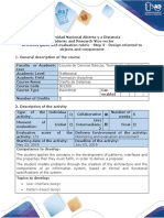 Activity Guide and Evaluation Rubric - Step 3 - Design Oriented to Objects and Components