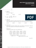 AMC Practice Problems Solutions Set1 JUN 1