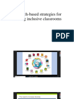 Research-based Strategies for Creating Inclusive Classrooms