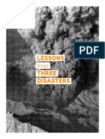 Lessons From 3 Disasters
