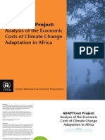 ADAPTCost Project Analysis of the Economic Costs of Climate Change Adaptation in Africa