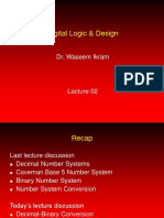Digital Logic Design - CS302 Power Point Slides Lecture 02
