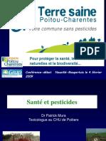 Pesticides Et Sante