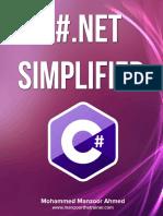 c# .Net Simplified Mohammed Manzoor Hmed