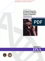 A National Protocol for Sexual Assault Medical Forensic Examinations, Adults_Adolescents