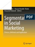 Timo Dietrich Sharyn Rundle Thiele Krzysztof Kubacki Eds. Segmentation in Social Marketing Process Methods and Application Springer Singapore 2017