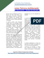 TEÓRICOS DA EDUCAÇÃO - TEORIA DE DECROLY