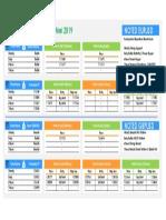 Teknikal Plan 27 - 31 Maret 2019 ( Eurusd & Gbpusd )
