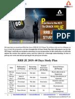 RRB JE 2019 Study Plan Sscadda