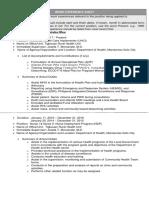sample Work Experience Sheet