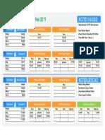 Teknikal Plan 27 - 31 Maret 2019 ( Xauusd & Usdcad )