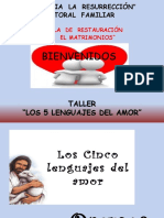 Los 5 Lenguajes Del Amor( Final)