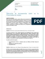 Aplicación Herramientas Lean en Universidad de Oviedo