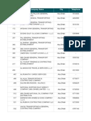 ADC Converted   United Arab Emirates   Companies