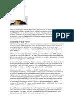 Resumen de Eva Perón