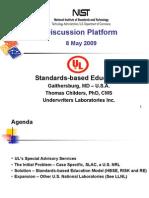 Standards-Based Education 2009 - UL