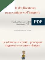 5-1_Bilan Clinique Et d'Imagerie de La Coiffe Des Rotateurs