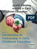 Partnering With Families Community in ECE U1(1)